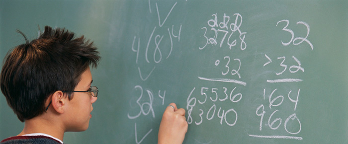 How can my child improve his Math results?